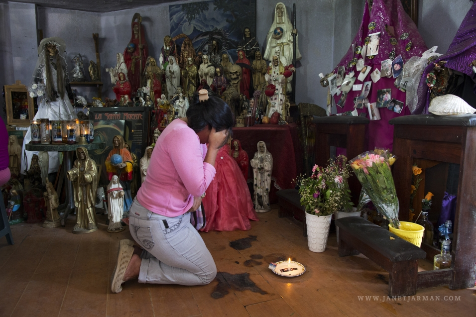 Devoted to La Santa Muerte | Janet Jarman Photography